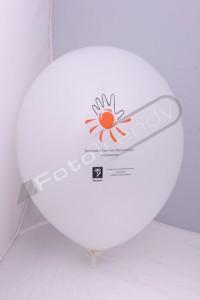 Balony z helem promocją sieci komórkowej