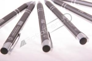 Długopisy reklamowe promocją firmy ochroniarskiej